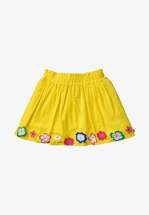 A-line skirt - Zitronenschalengelb