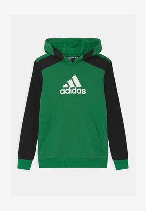 UNISEX - Hoodie - core green/black/white