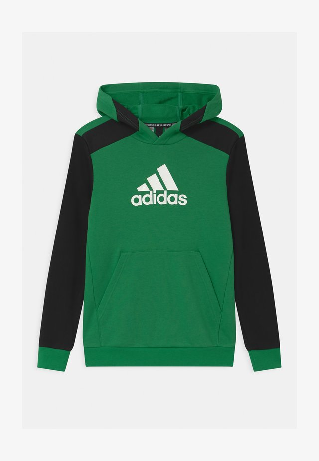 UNISEX - Sweat à capuche - core green/black/white