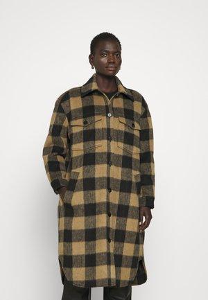 ALTHEA - Klasický kabát - sepia tint