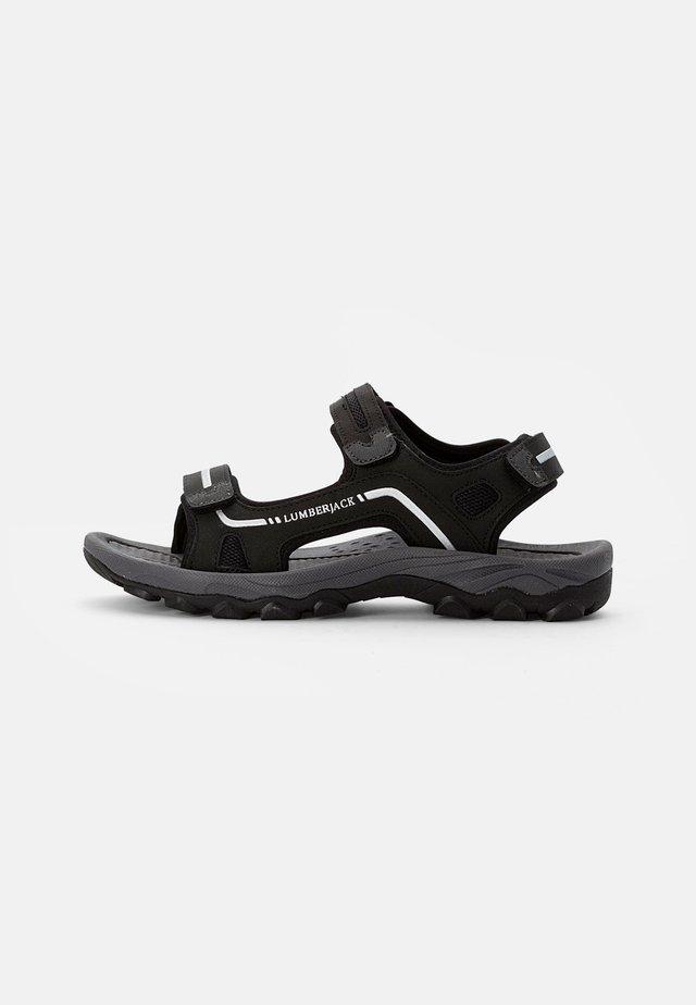 LAGGUN - Sandales de randonnée - black