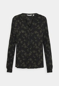 b.young - BYJOSA V NECK - Long sleeved top - deep depths - 3