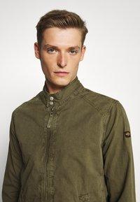 Schott - JAY - Summer jacket - light kaki - 4