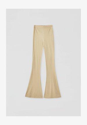 Bukser - mottled beige