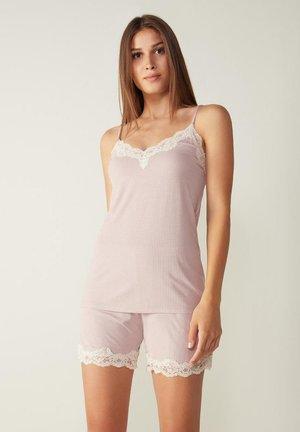 NATURAL FEELING - Pyjama top - pink, pink, mottled pink