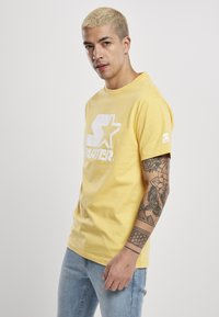 Starter - Print T-shirt - buff yellow - 2