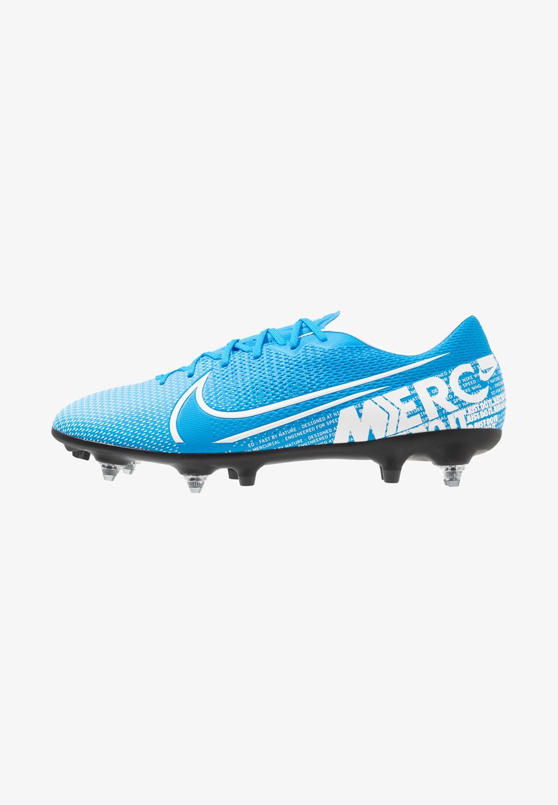 Nike Performance - VAPOR 13 ACADEMY SG-PRO AC - Screw-in stud football boots - blue hero/white/obsidian