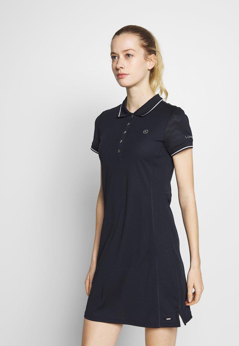 Luhta - HONKOLA - Jersey dress - dark blue