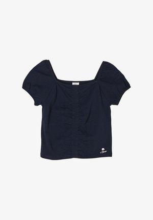 KARREEAUSSCHNITT - Basic T-shirt - dark blue