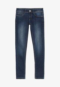 Esprit - PANTS - Jeans Slim Fit - dark indigo denim - 2