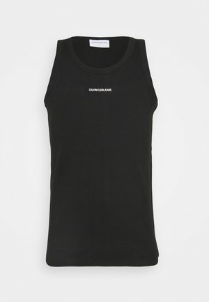 MICRO BRANDING TANK - Top - black
