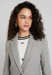 TWINTIP - Classic coat - grey melange - 3