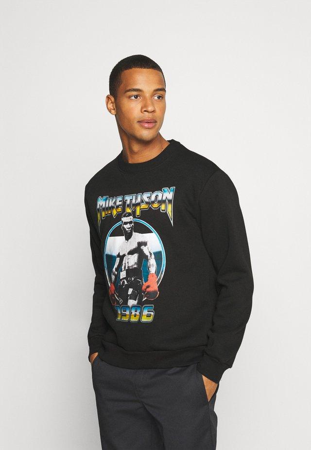 IRON MIKE TYON CREW - Sweatshirt - black
