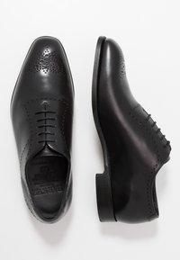 Barker - PLYMOUTH - Stringate eleganti - black - 1
