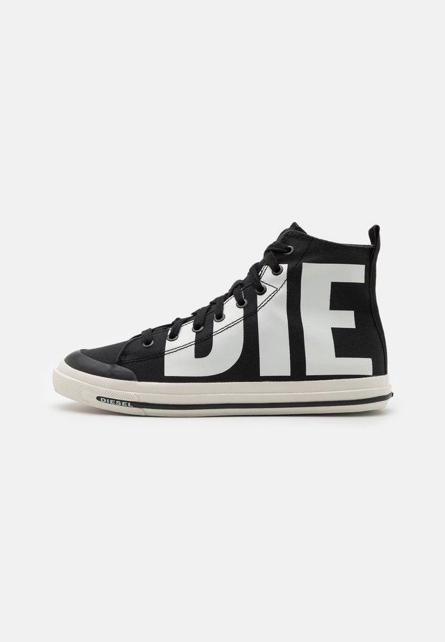 S-ASTICO MID CUT - Sneakers alte - black