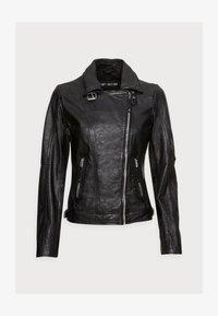 Freaky Nation - ALIET - Leather jacket - black - 4