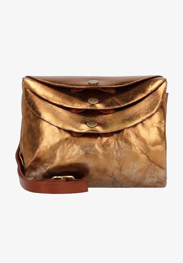 Across body bag - bronzo
