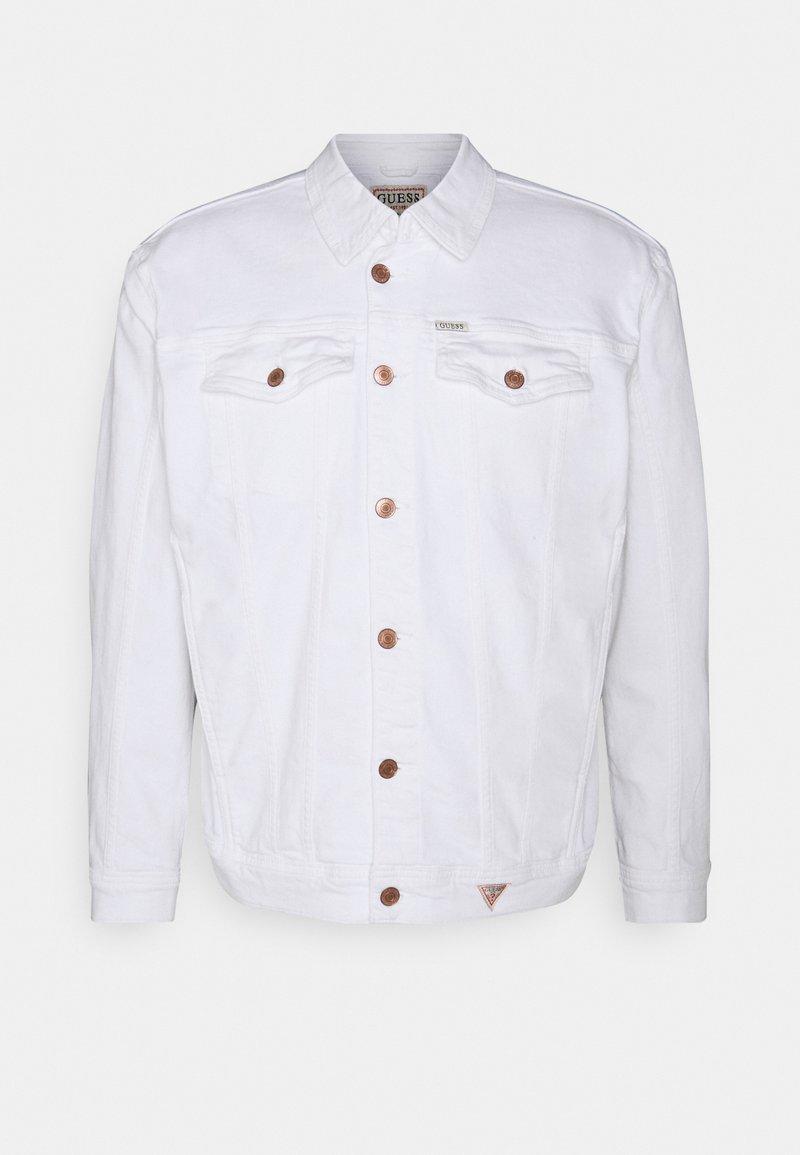 Guess - TYSON JACKET - Denim jacket - true white