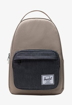 MILLER - Rucksack - timberwolf/black denim