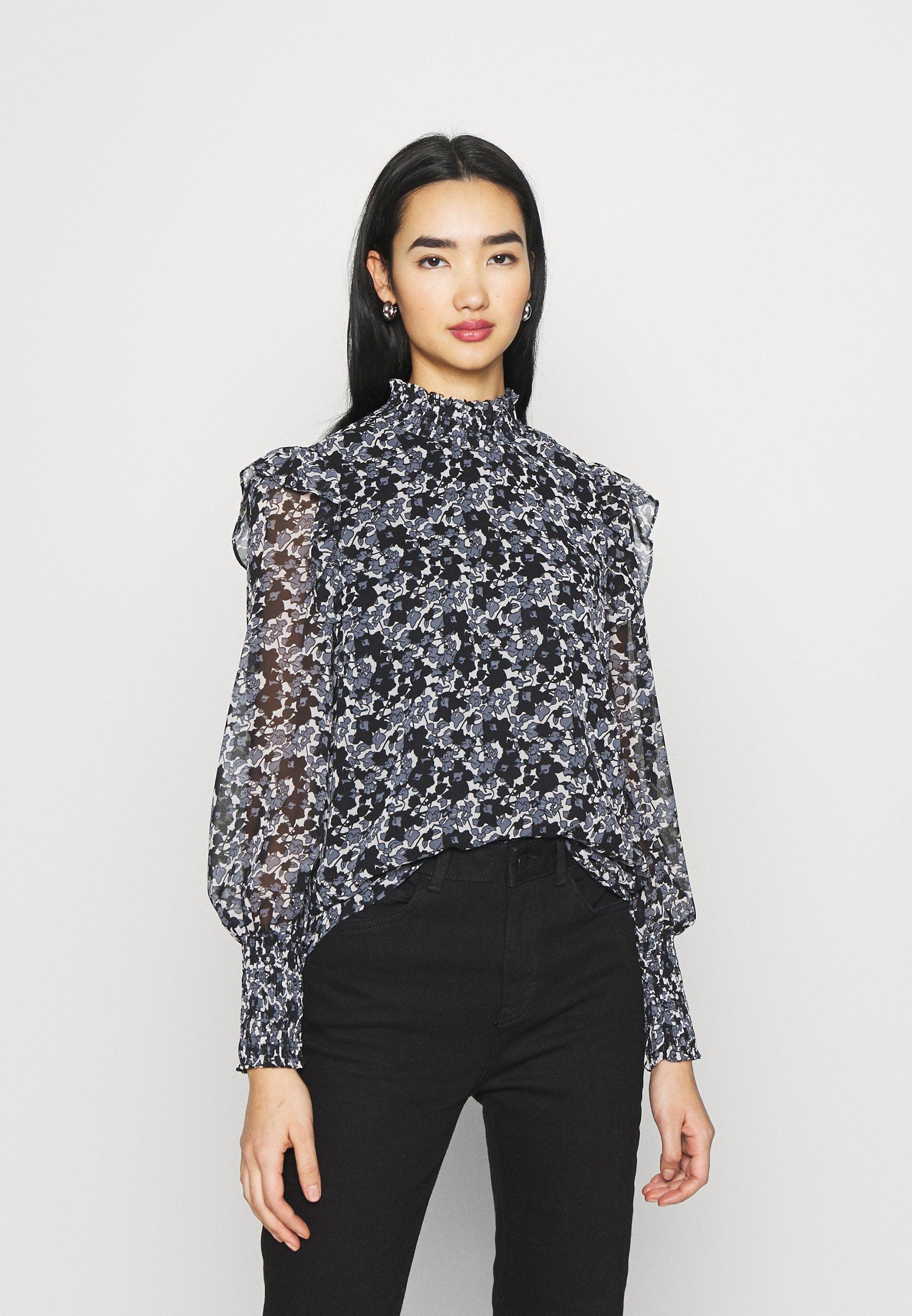 Women VMFILIA SMOCK - Long sleeved top