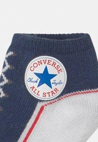 Converse - CHUCK TODDLER 2 PACK UNISEX - Socks - navy/off white - 2