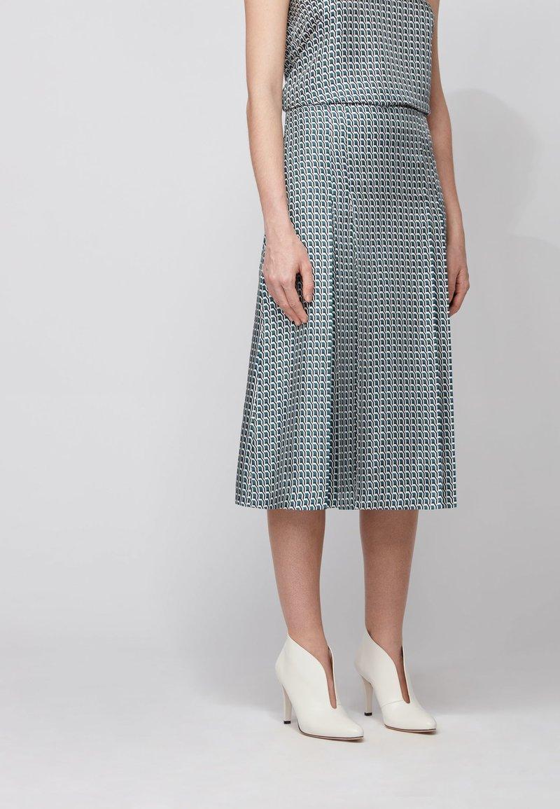 BOSS - VIMAS - A-line skirt - patterned