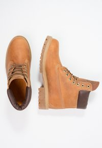 Timberland - HERITAGE 6 IN PREMIUM - Lace-up ankle boots - burnt orange - 1