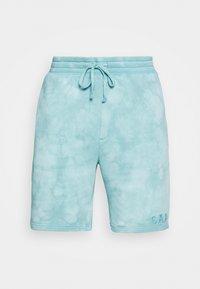 LOGO - Shorts - mellow blue