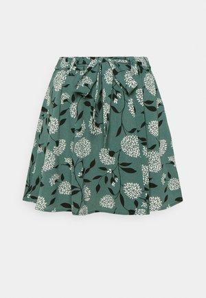 ONLNOVA LUX JASMIN SKIRT - A-line skirt - balsam green