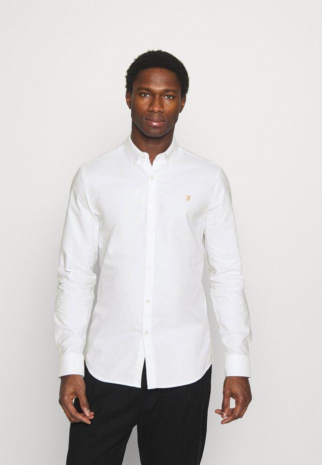 BREWER - Overhemd - white