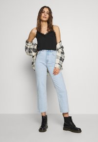 Abrand Jeans - A VENICE STRAIGHT - Straight leg jeans - bleached stone - 1
