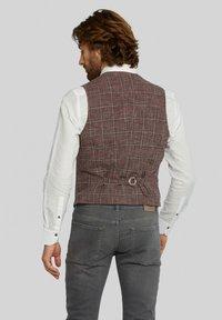Van Gils - EVION - Suit waistcoat - dark red - 2