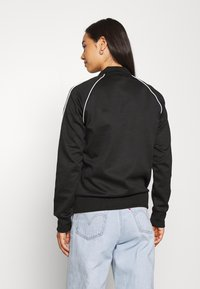 adidas Originals - TRACKTOP - Veste de survêtement - black/white - 3