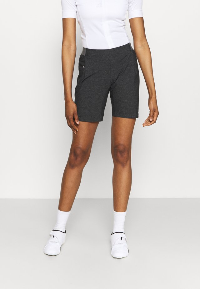 WOMENS CYCLIST SHORTY - Korte broeken - black