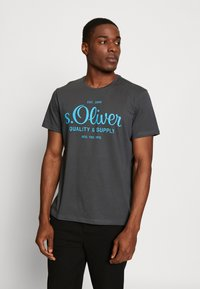 s.Oliver - Print T-shirt - volcano - 0