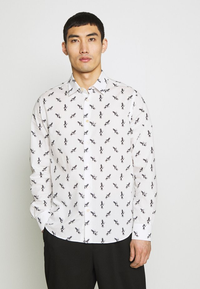 GENTS ALLOVER BUNNY - Shirt -  white