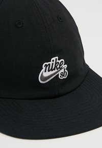 Nike SB - FLATBILL - Pet - black - 6