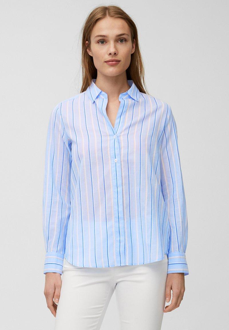 Marc O'Polo - Button-down blouse - blue