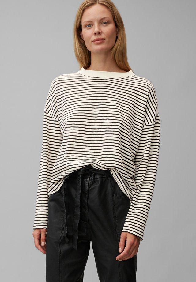 Long sleeved top - multi/black