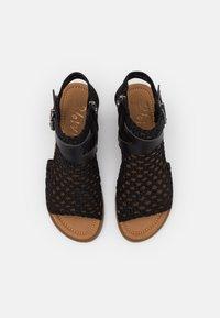 Blowfish Malibu - VEGAN BALLA - Ankle cuff sandals - black - 4