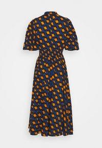 Diane von Furstenberg - ERICA - Robe longue - navy - 1
