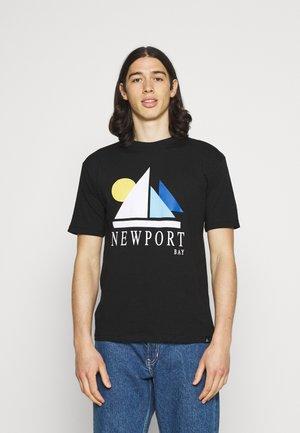 SAIL - Print T-shirt - black