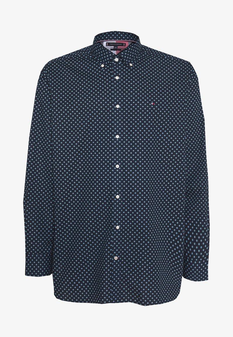 Tommy Hilfiger - FLORAL GEO PRINT - Overhemd - blue