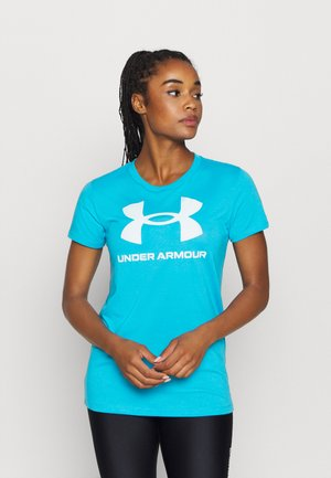 LIVE SPORTSTYLE GRAPHIC - Camiseta estampada - blue topaz