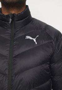 Puma - WARM PACKLITE - Gewatteerde jas - black - 5