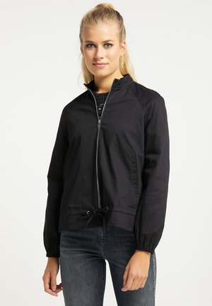 Summer jacket - schwarz