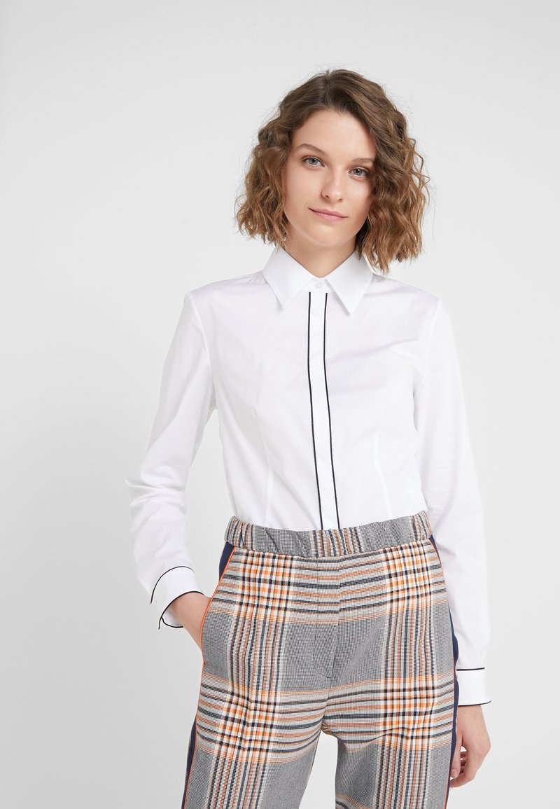HUGO - ETRINA - Button-down blouse - open white