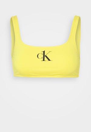 ONE BRALETTE - Bikini pezzo sopra - hazard yellow