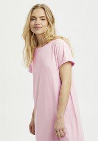 Kaffe - KACELINA - Maxi dress - candy pink - 3
