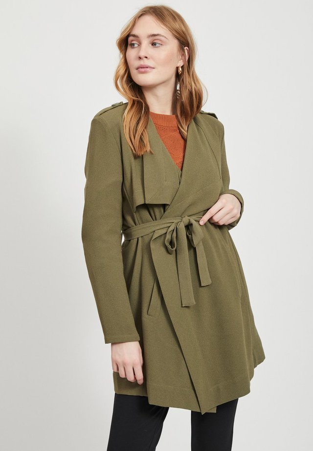 OBJANNLEE SHORT - Trench - burnt olive